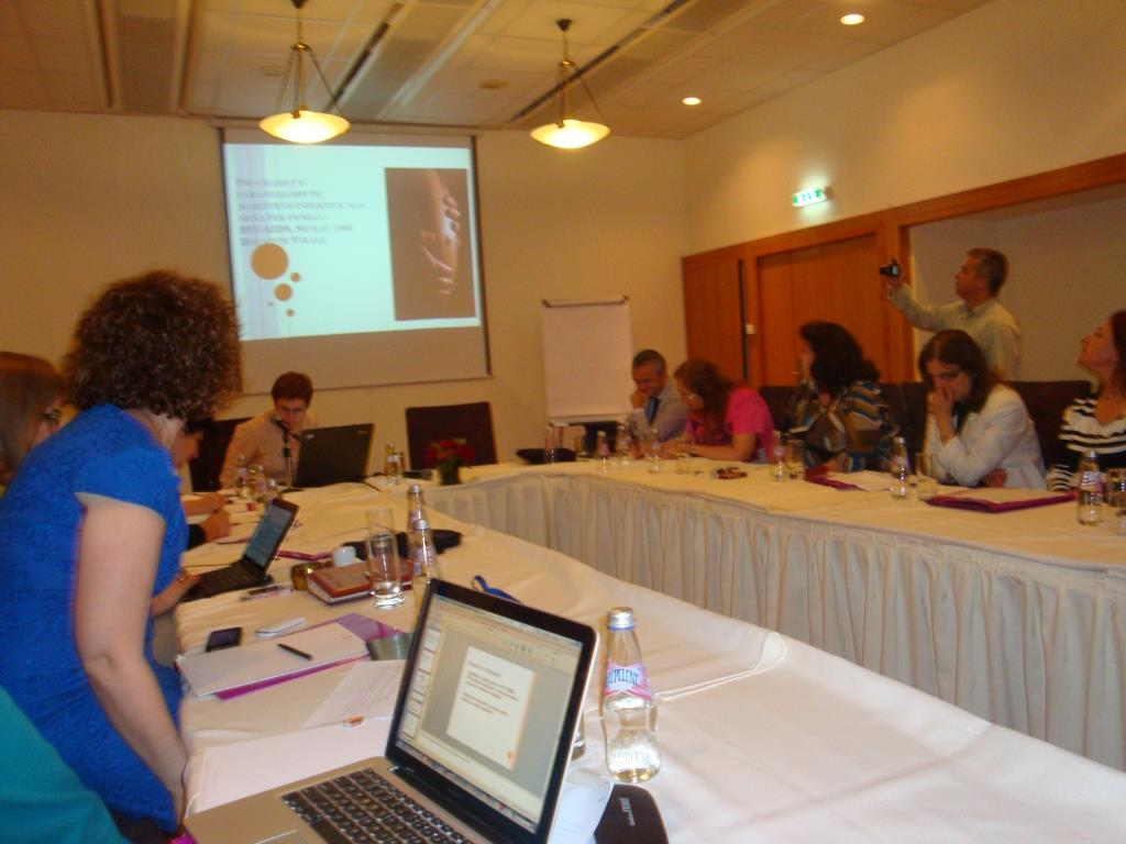 6 June 2014, Meeting on PMTCT of Infective Agents in Albania