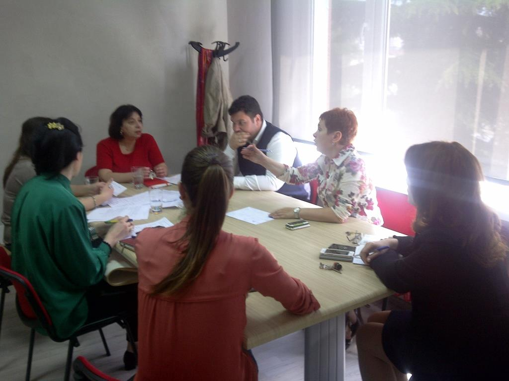 Preliminary meeting about Influenza Web Platform, May 7th 2014