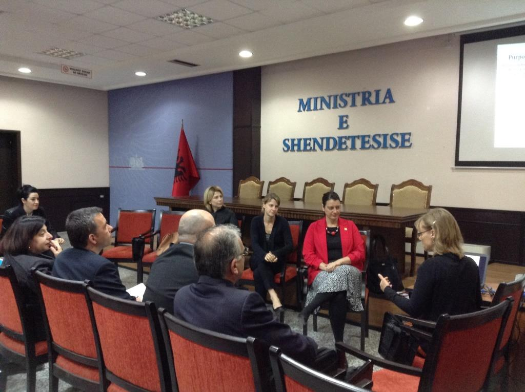 CDC Site Visit to Albania, 26th April - 3rd May, 2014