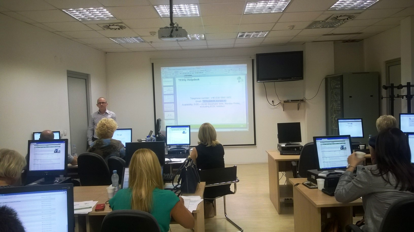 Influenza TESSy Training of SEE countries  17-18 September 2015, Podgorica, Montenegro