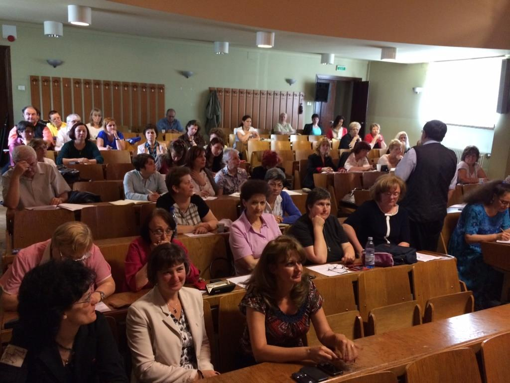 National workshop in Romania with epidemiologists involved in ARI, ILI and SARI surveillance, 30 May 2014