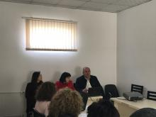 Epi Tel meeting at prefecture level, Korca, 17 March 2017