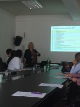 Macedonia-Sentinel ILI sites workshop, 29.09.2015