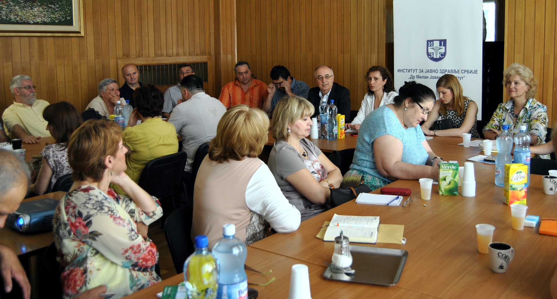 Serbia, Annual Influenza Meeting of Vet and IPH, 3 June 2015