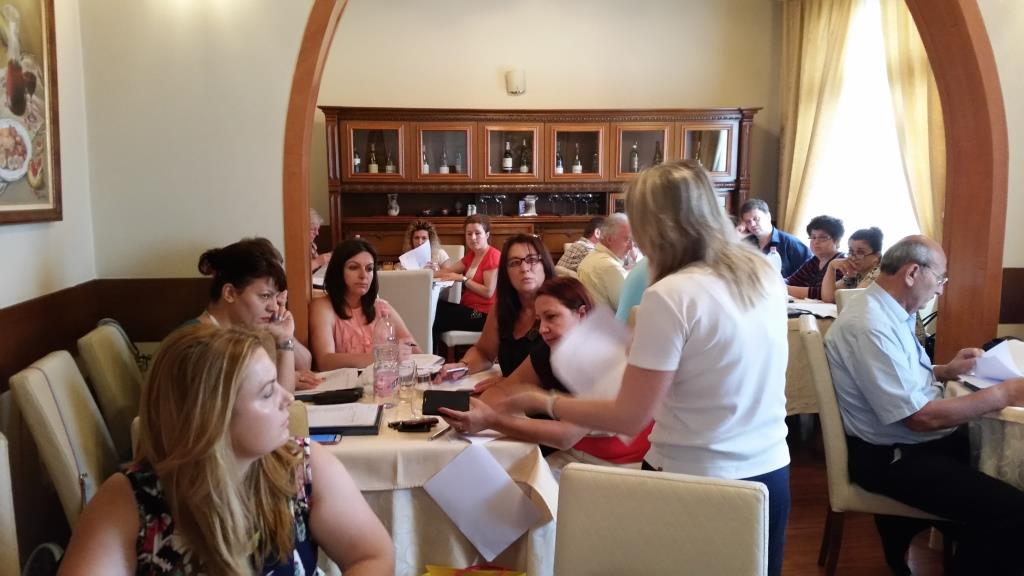 Multiple injectable vaccines evaluation-  23-24 June 2015 training, Tirana, Albania