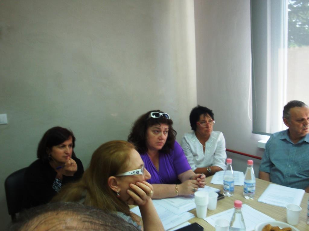 Round table about cancer screening policies in Albania, 05 June 2014