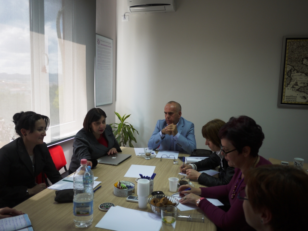 Meeting of Working Group about strengthening the epidemiological surveillance, diagnosis and treatment of Leishmaniasis in Albania 30 April 2015