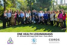 'One Health' Leishmaniasis. 29 – 30 October 2014 Tirana